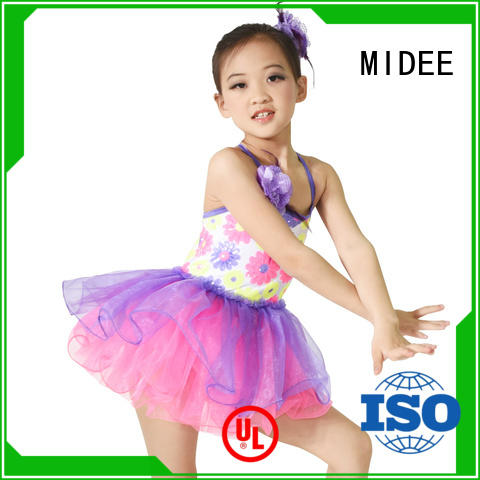 MIDEE comfortable kids ballet clothes factory price dancer