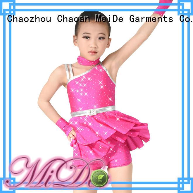 MIDEE anti-wear ballet dresses for girl factory price dance school