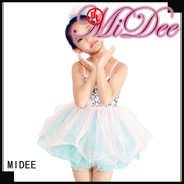 MIDEE lace girls ballet outfit factory price show