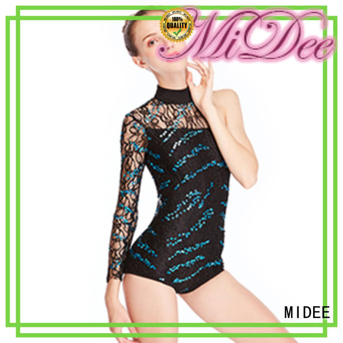 MIDEE odm latin dance costumes manufacturer show