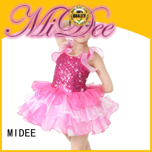 MIDEE wide girls ballet clothes bulk production dancer