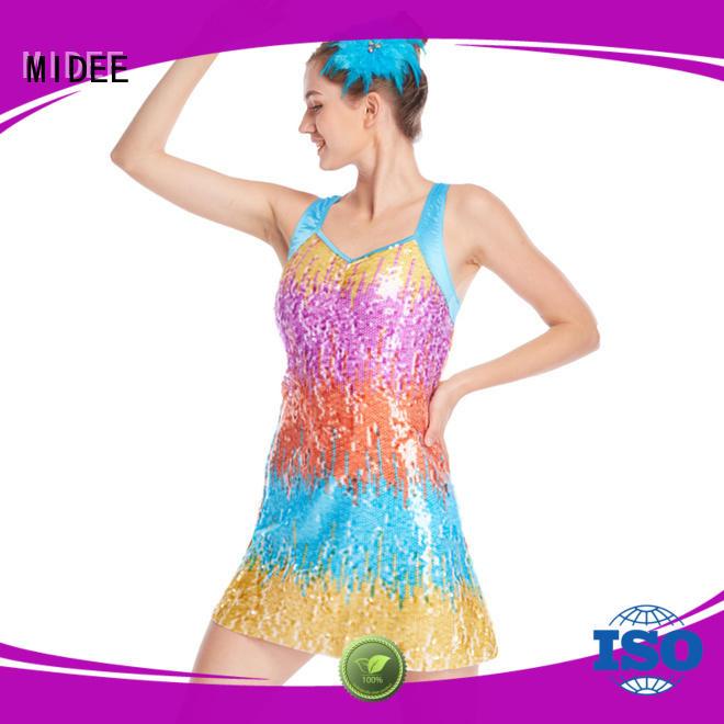 MIDEE professional dress dance costumes jazz customization dancer