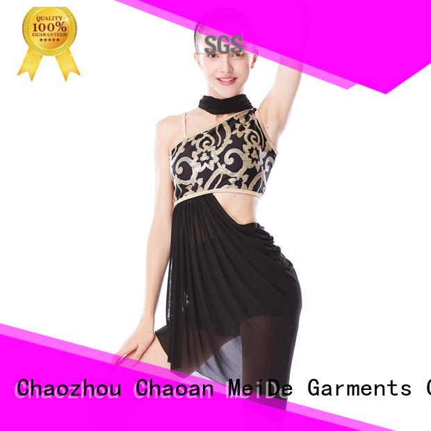 OEM lyrical dancewear performance custom competition
