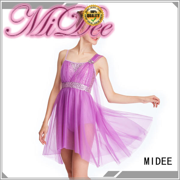 MIDEE pieces lyrical solo costumes dance clothes stage