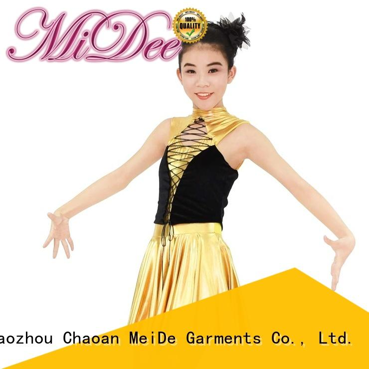 MIDEE professional dress tap dance costumes manufacturer competition