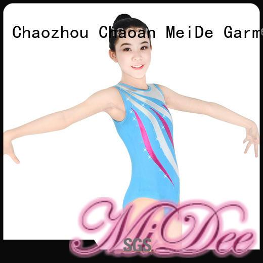 adjustable girls ballet costume velvet odm Stage