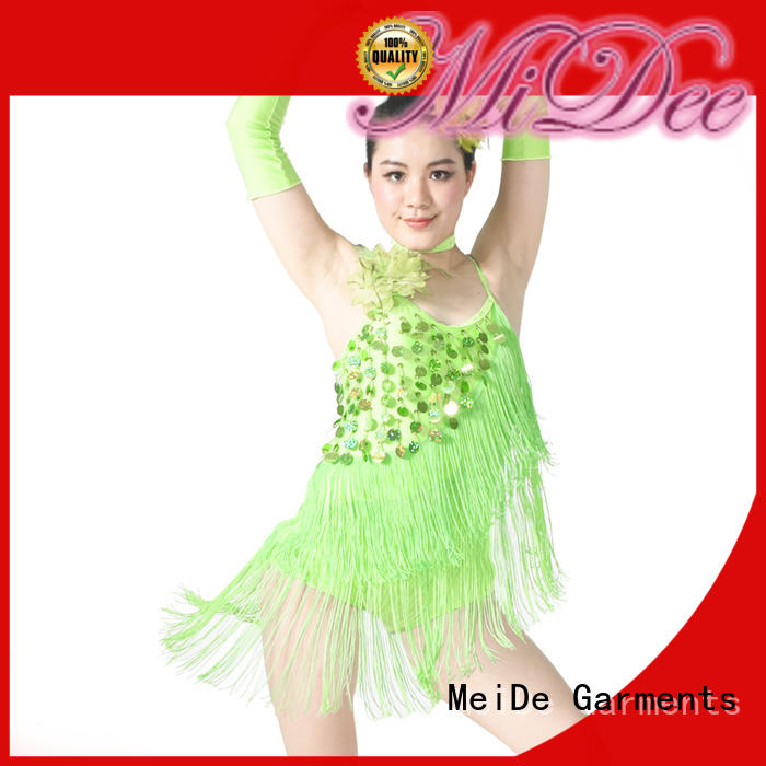 MIDEE neck jazz solo costumes for wholesale dance school