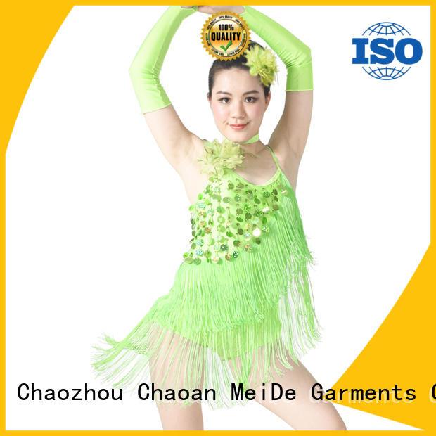 MIDEE tie jazz costumes for wholesale dancer