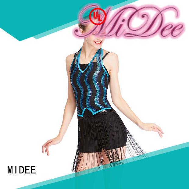 dance costumes for girls jazz top Stage MIDEE