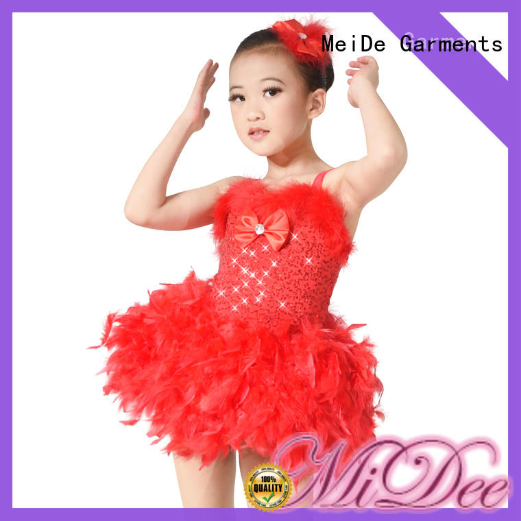 MIDEE comfortable ballet clothes odm Stage