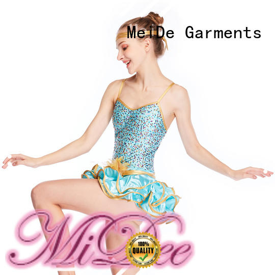 MIDEE black tap dance costumes manufacturer show