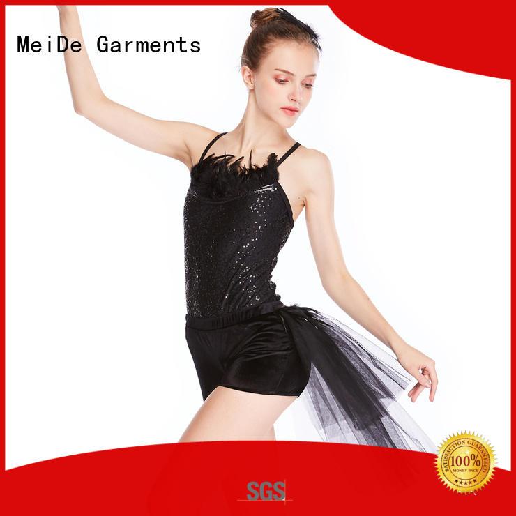 MIDEE adjustable ballet leotards for girls factory price show