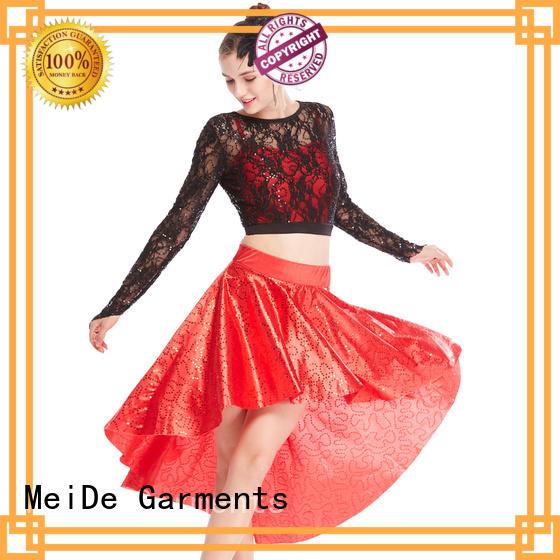 odm jazz dance dress fringes manufacturer performance