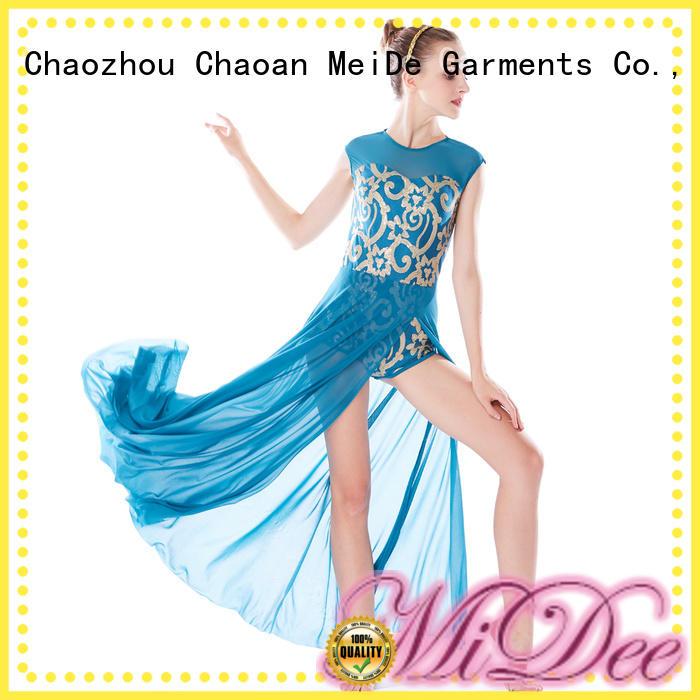 OEM adult dance clothes modern dance clothes show