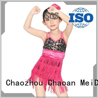 MIDEE highlow girls lyrical dance costumes custom competition