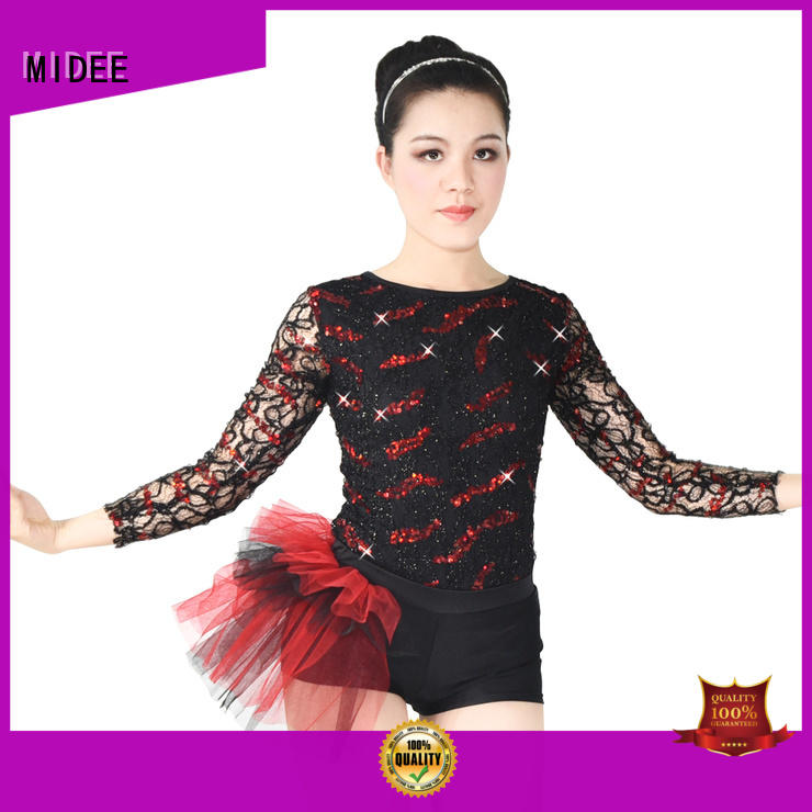 fringed jazz costumes for kids contrasting show MIDEE