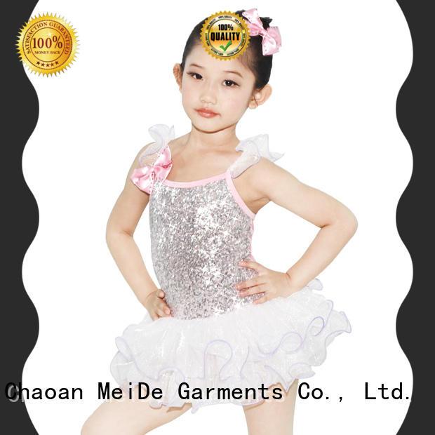 MIDEE shoulder kids ballet outfit bulk production dancer