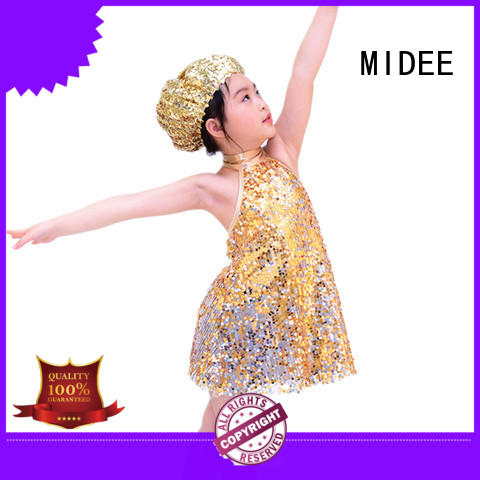 MIDEE odm jazz dance uniforms tap competition