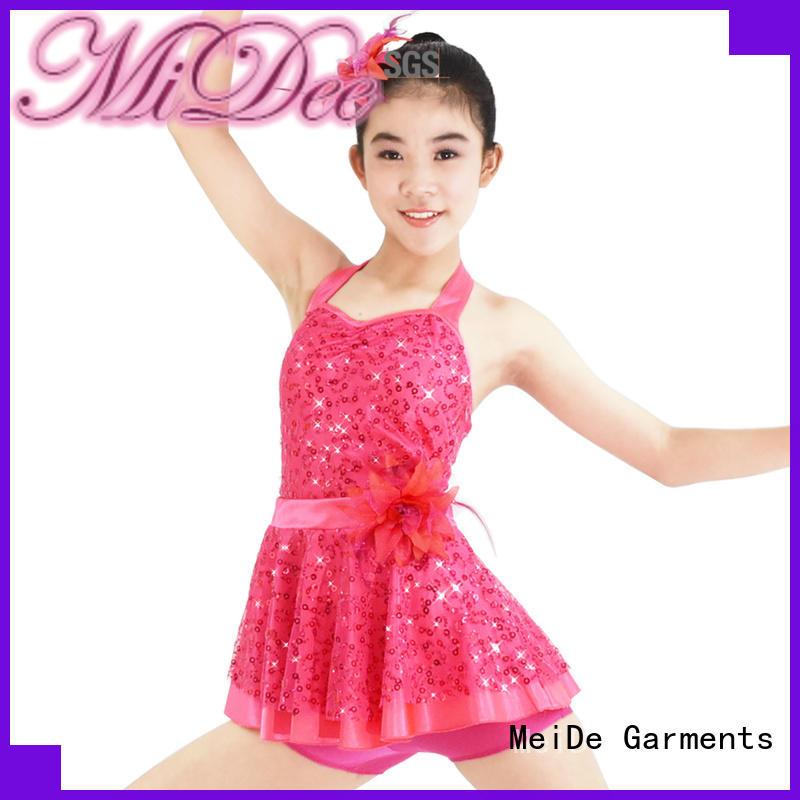 MIDEE sleeves girls ballet clothes odm dancer