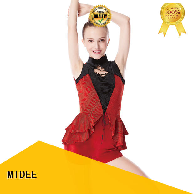 odm jazz dance costumes for competition fringe customization show