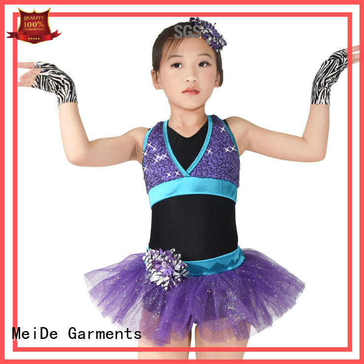 MIDEE performance kids ballet outfit bulk production competition