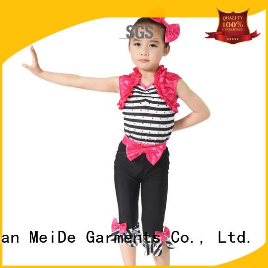 MIDEE black jazz leotards manufacturer dance school