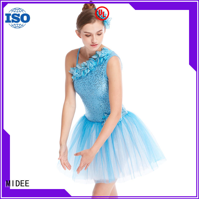 MIDEE anti-wear girls ballet outfit odm show