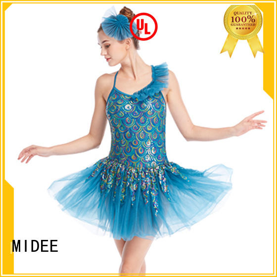 anti-wear ballet dresses for girl lace factory price show