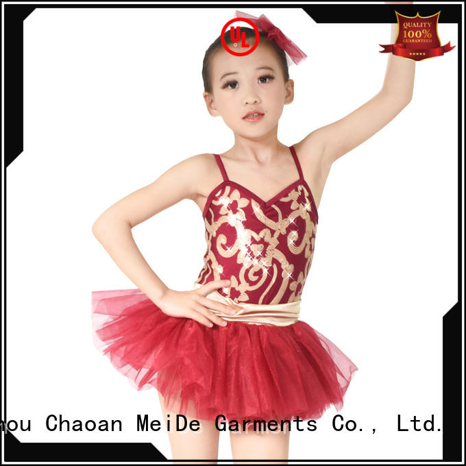 MIDEE velvet ballet clothes for adults factory price dancer