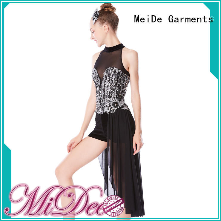 MIDEE professional dress jazz outfits customization dance school
