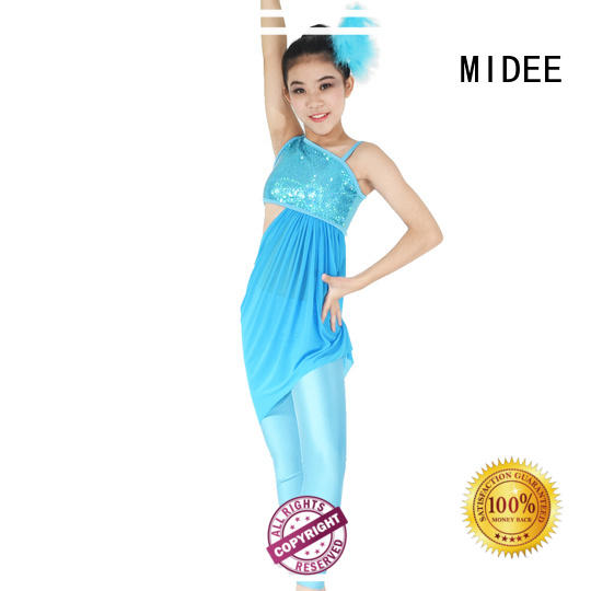MIDEE odm jazz dance costumes for competition for wholesale competition