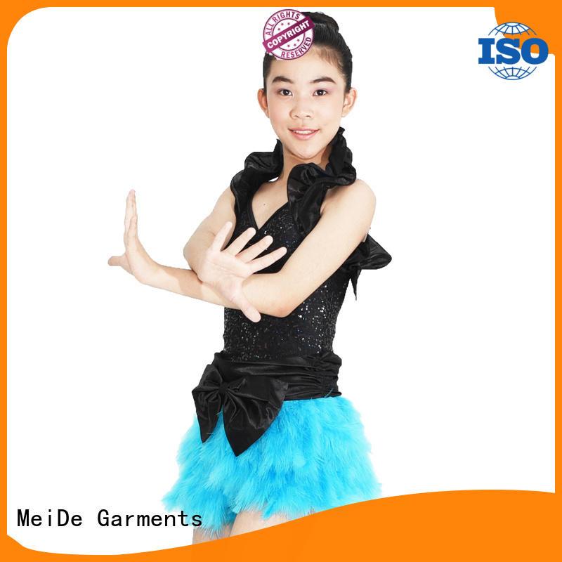 MIDEE cheerful jazz dance costumes customization show