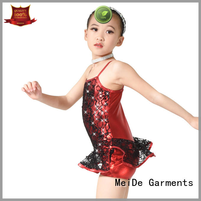 professional dress jazz costumes for competition tie customization show