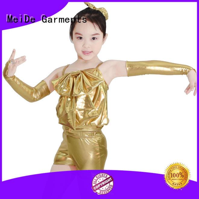 MIDEE fringes jazz dance dress for wholesale dance school