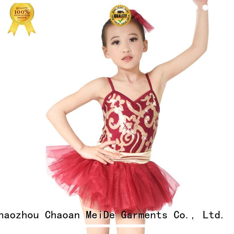 MIDEE Breathable dance costume get quote school