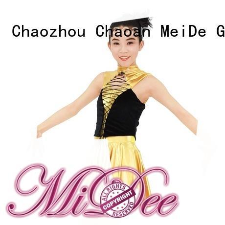 MIDEE odm jazz dance clothes customization show
