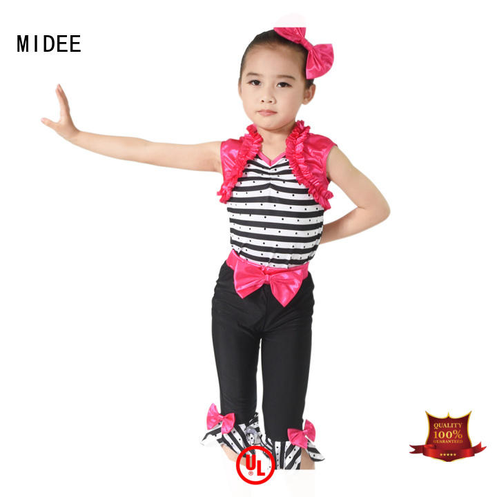 MIDEE sequins jazz outfits ladies customization performance