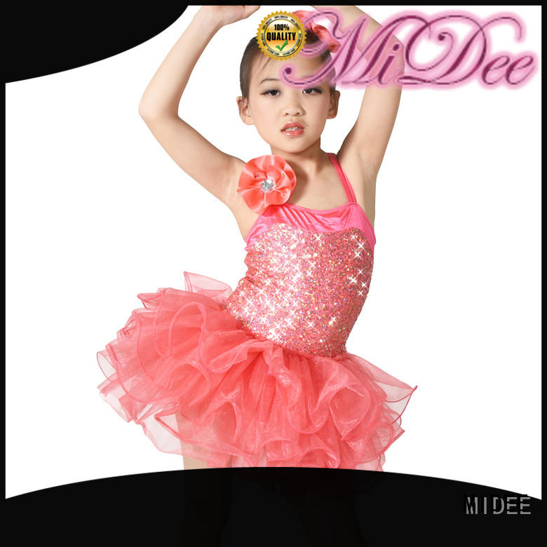 Breathable dance costume supplier school