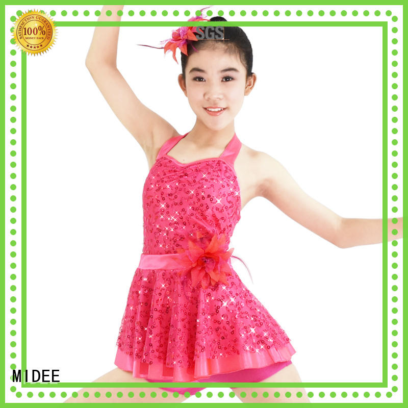 MIDEE adjustable ballet dresses for girl odm dance school