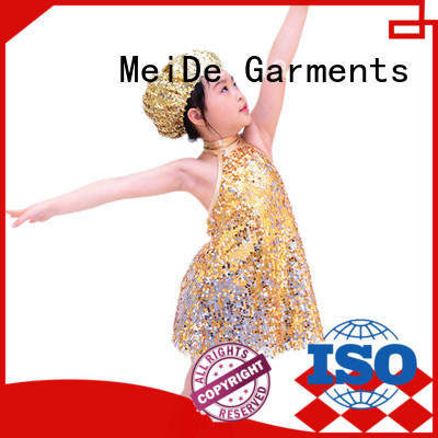 MIDEE odm latin dance costumes sequins performance