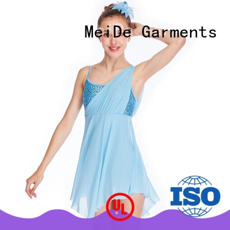 OEM lyrical dance costumes sequins custom competition