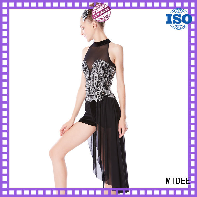 MIDEE odm jazz outfits ladies for wholesale competition