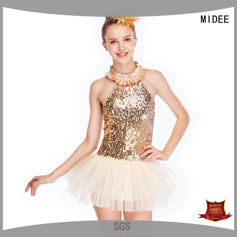 MIDEE adjustable ballet dance costume dance dance school