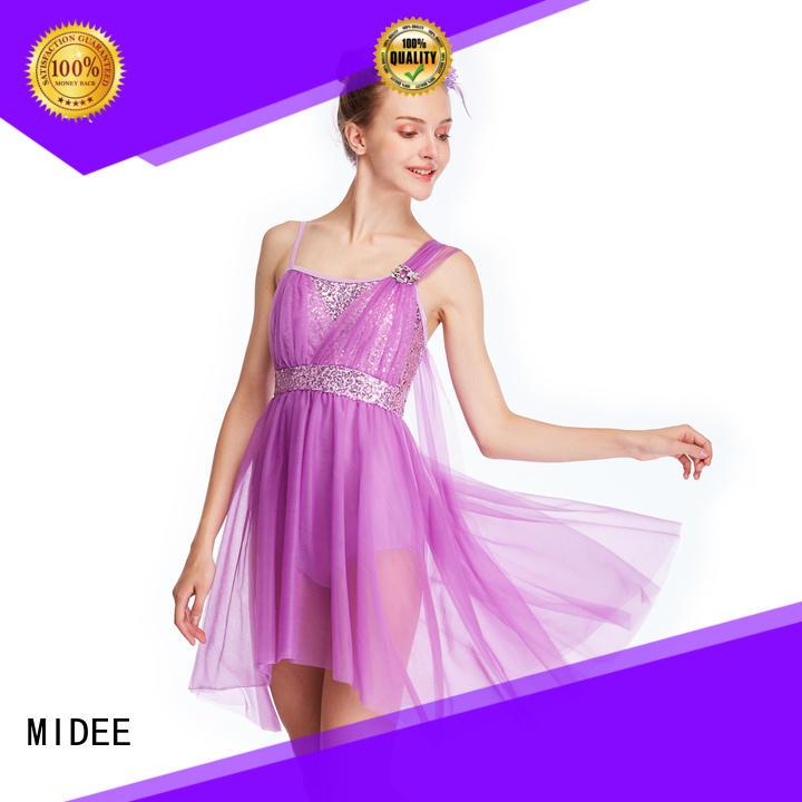 MIDEE asymmetric lyrical skirt custom competition