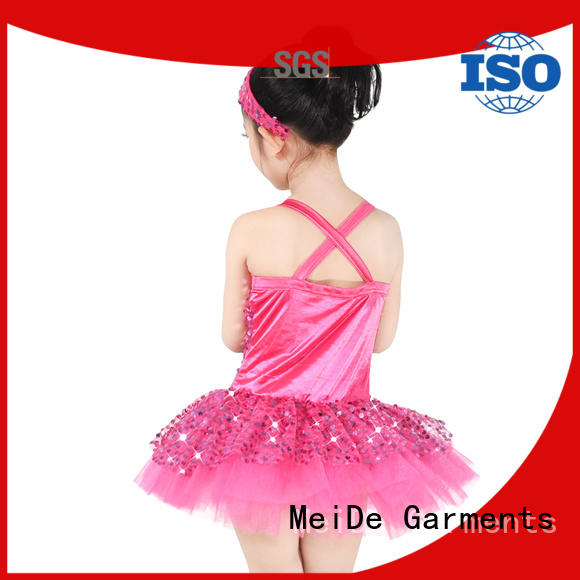 anti-wear toddler ballet outfit highlow bulk production competition
