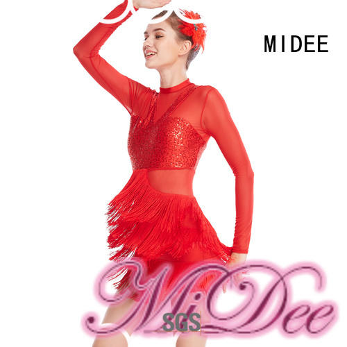 MIDEE odm latin dance costumes for wholesale dancer