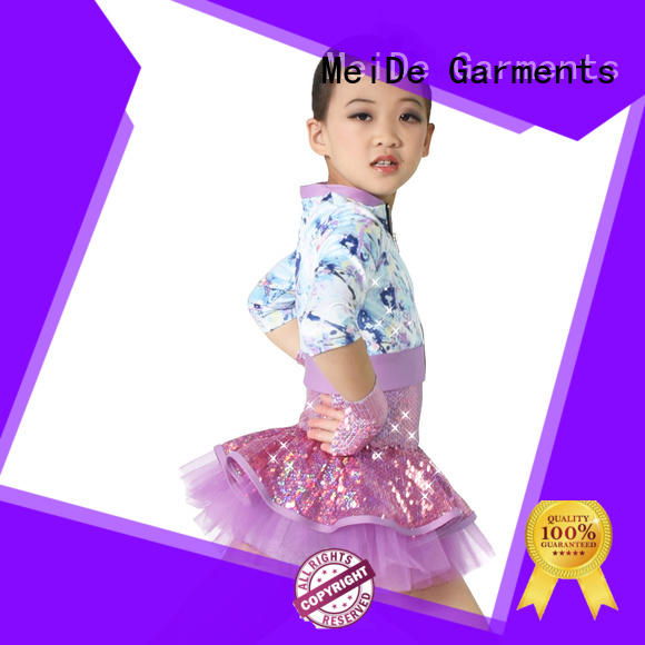 odm jazz clothing costume customization dance school
