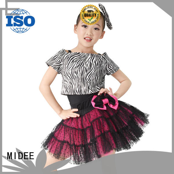 MIDEE leotard kids ballet outfit odm show