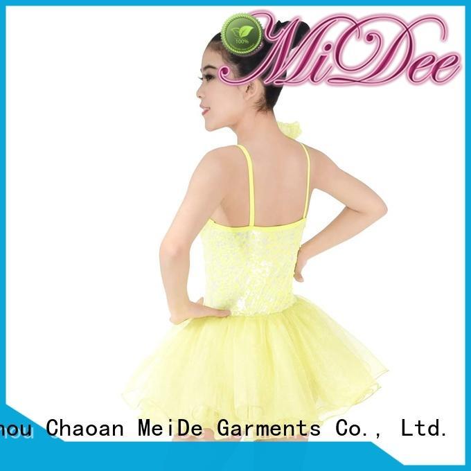 adjustable kids ballet clothes top factory price show