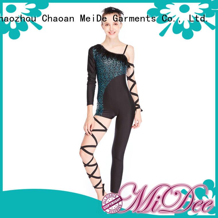 odm jazz costumes black customization dancer